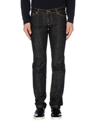Betwoin Denim Denim Trousers Men Black