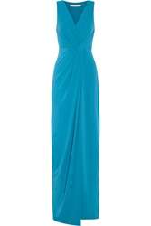 Halston Draped Jersey Gown