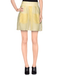 Felipe Oliveira Baptista Mini Skirts Yellow