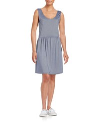 Bench Stretch Dress With Back Cutout Blue