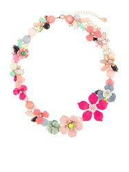 Accessorize Bethany Flower Statement Collar Necklace