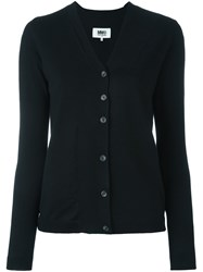 Maison Martin Margiela Mm6 V Neck Cardigan Black