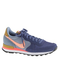 J.Crew Women's Nike Internationalist Mid Sneakers Navy Coral