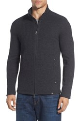 Prana Men's 'Barclay' Full Zip Rib Knit Sweater
