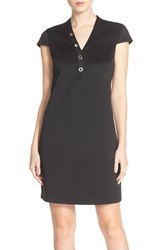 Women's Marc New York Scuba Shift Dress