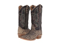 Old West Boots 60205 Oryx Elephant Print Adrian Black Cowboy Boots Brown