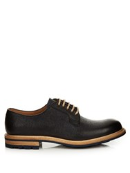 Cheaney Teign Grained Leather Derby Shoes Dark Blue