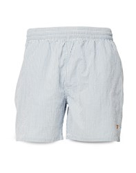Farah Munroe Seersucker Swim Short Blue