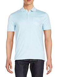 Saks Fifth Avenue Slim Fit Cotton Polo Shirt Corydalis