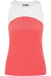 Lija Seaside Zephyr Stretch Jersey Tank Orange