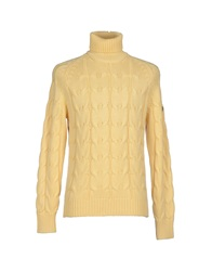 Cooperativa Pescatori Posillipo Turtlenecks Light Yellow