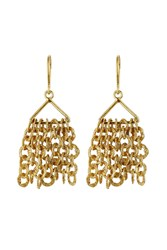 Pippa Small Gold Plated Silver Earrings Gr. One Size