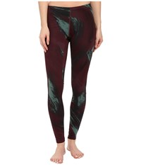 Asics Tier One Graphic Tight Aurora Print Women's Workout Taupe