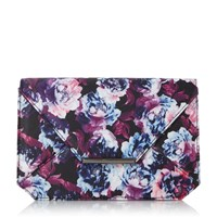Head Over Heels Beronica Envelope Clutch Bag Multi Coloured Multi Coloured