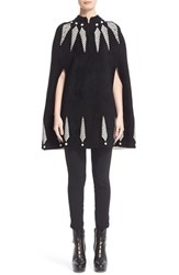 Alexander Mcqueen Women's Feather Knit Cape