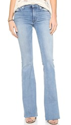 Hudson Tyler Cut Off Flare Jeans Altair