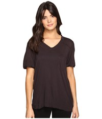 Blank Nyc Loose T Shirt In Storm Cloud Storm Cloud Women's T Shirt Olive