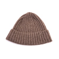 Tengri Basic Ribbed Beanie Tan Brown