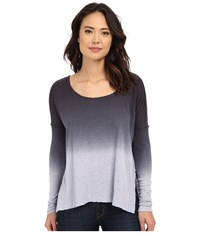 Free People Starry Night Tee Lavender Mist Grey Combo Women's T Shirt Gray