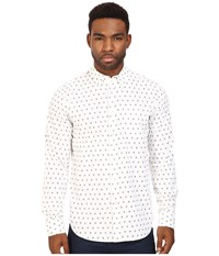 Obey Syd Woven White Multi Men's Long Sleeve Button Up