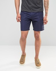 Penfield Chino Shorts In Navy Navy