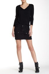 Zadig And Voltaire Corduroy Mini Skirt Black