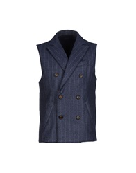 Eleventy Vests Grey