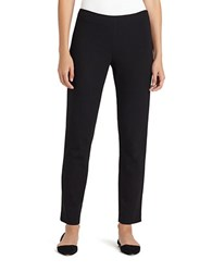 Lafayette 148 New York Punto Milano Clean Finished Slim Pencil Pants Black