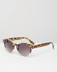 Jeepers Peepers Round Sunglasses In Tort Tort Brown