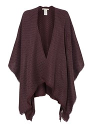 White Stuff Ottodine Cape Scarf Purple