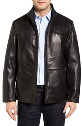 Robert Comstock Men's Reversible Lambskin Leather Jacket