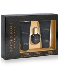 Sean John 3 Pc. Unforgivable Gift Set No Color