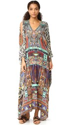 Camilla Split Front And Sleeve Kaftan For Wherever You Wander