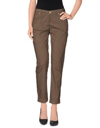 Armata Di Mare Trousers Casual Trousers Women Military Green