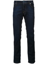 Jacob Cohen Dark Rinse Jeans Blue