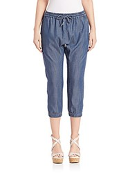 Eileen Fisher Organic Blend Cropped Denim Pants