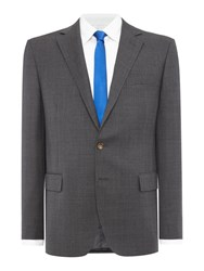 Polo Ralph Lauren Bedford Slim Fit Prince Of Wales Check Suit Grey