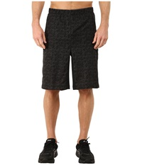Asics Graphic Shorts 11 Performance Black Dark Grey Maze Print Men's Shorts