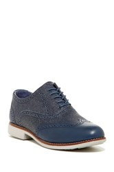 Cole Haan Gramercy Wingtip Oxford Ii Blue