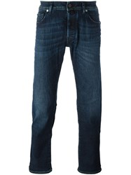 Jacob Cohen 'Comfort' Straight Leg Jeans Blue