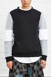 Forever 21 Colorblock Ribbed Sweatshirt