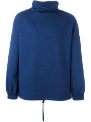 J.W.Anderson J.W. Anderson High Collar Sweater Blue