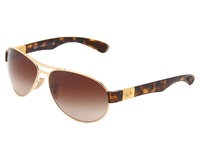 Ray Ban Rb3509 63Mm Arista Brown Gradient Fashion Sunglasses