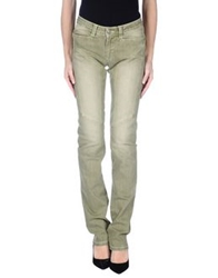 9.2 By Carlo Chionna Denim Pants Green