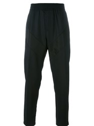 Givenchy Geometric Panelled Trousers Black
