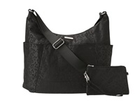 Baggallini Hobo Tote Cheetah Black Cross Body Handbags Multi