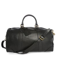 Polo Ralph Lauren Black Weekend Leather Bag