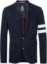 Guild Prime Stripe Detail Blazer Blue