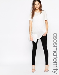 Asos Maternity ''Sculpt Me'' Jean Jegging In Black