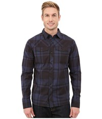 Black Diamond Long Sleeve Stretch Technician Shirt Captain Black Plaid Men's Clothing